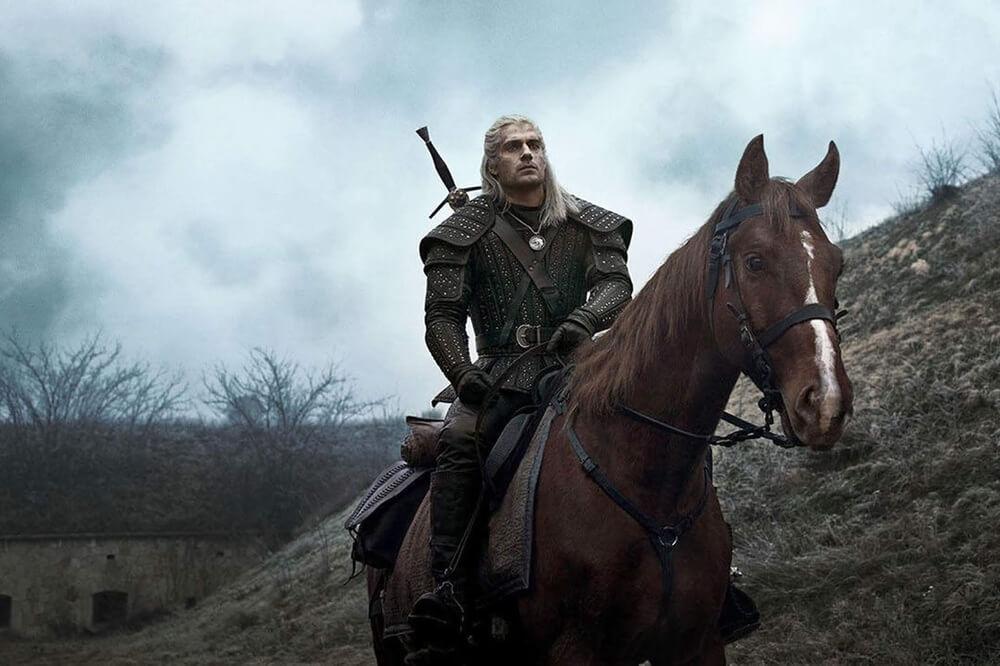 Доспехи и лошадь Геральта из Ривии